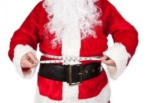 Overweight Santa