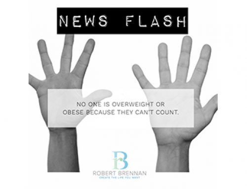 NEWS FLASH : No-One Is Obese Or Overweight Because They Can't Count