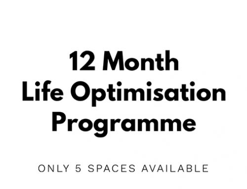 12 Month Life Optimisation Programme