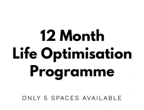 12 Month Life Optimisation Programme